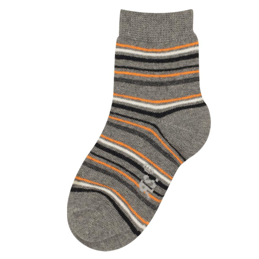 d63ed66894a 2081618 CHLAPECKÉ DÍVČÍ PONOŽKY VYŠŠÍ RS GREY - Dětské - Ponožky - Dívčí