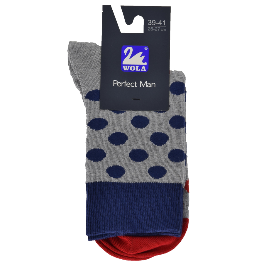Q35 PÁNSKÉ PONOŽKY VYŠŠÍ VZOROVANÉ SILVER - Pánské - Ponožky - Vzorované 175a2e2385