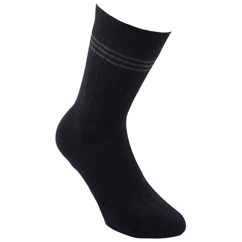 c838c28d18b 3277418 TEPLÉ PÁNSKÉ FROTÉ PONOŽKY VZOR RS ČERNÁ - Pánské - Ponožky - Teplé