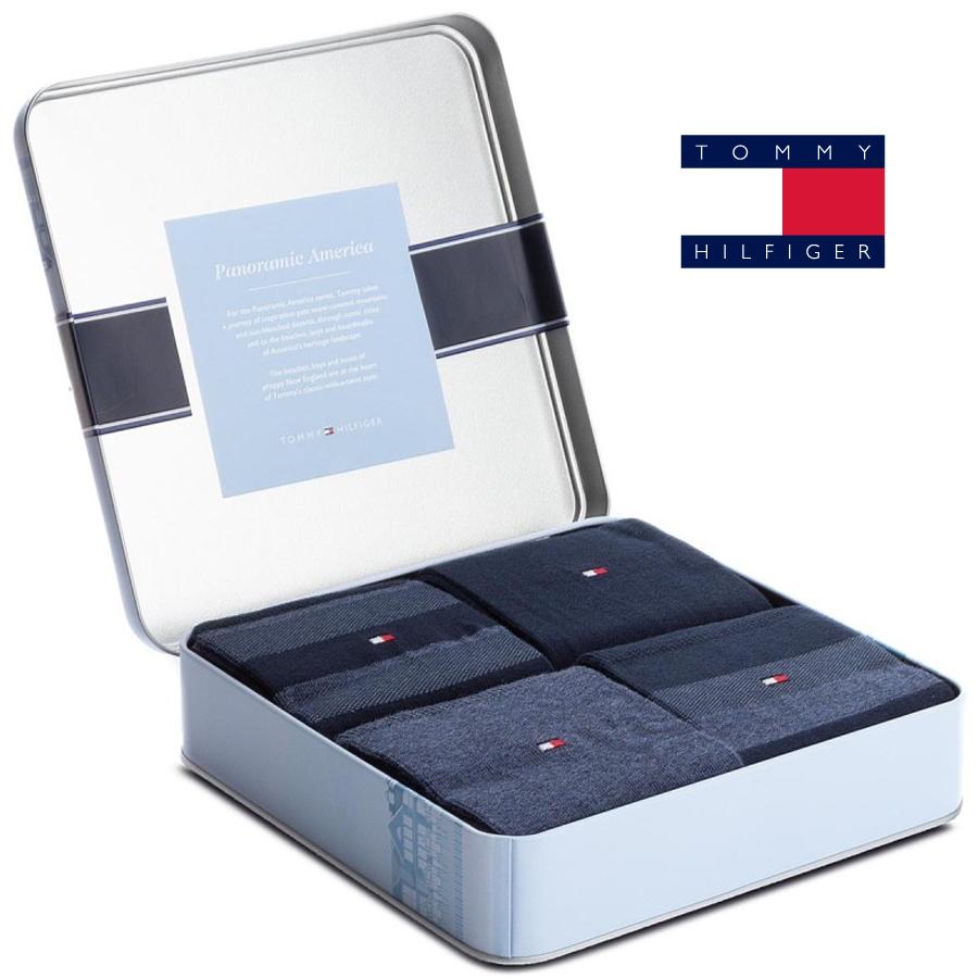 87561dd485 482002001 PÁNSKÉ PONOŽKY TH BOX 4PACK BLUE - Pánské - Ponožky - Vzorované