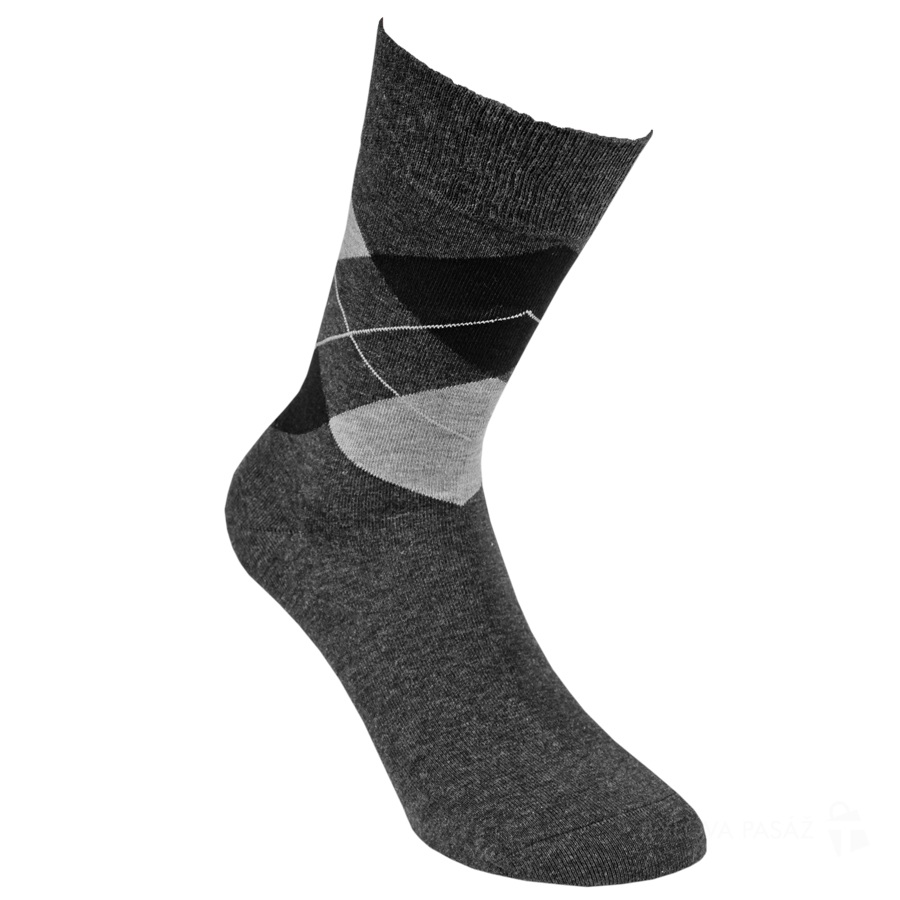32117 GIDEON ANTRACIT - Pánské - Ponožky - Vzorované 9953e2c530